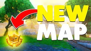 NEW *SECRET* TREASURE MAP IN ANARCHY ACRES | Fortnite Battle Royale