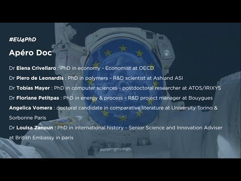 APERO DOC, PANEL DISCUSSION & PhD TESTIMONIES #EU4PHD [Dec, 11th]