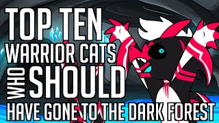 Nate Speaks: My Top Ten Warrior Cats Who SHOULD Have Gone to the Dark Forest