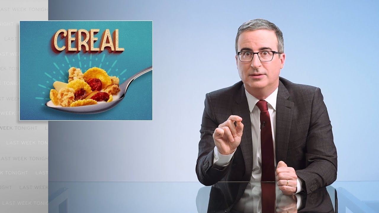 Cereal: Last Week Tonight with John Oliver (Web Exclusive)