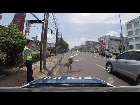 Ketahuan Melawan Arus, Pengendara Dibawah Umur Ini Disuruh Ngedance Oleh Polisi Mp3