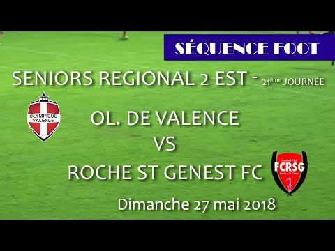 Séquence Foot   OV  vs Roche St Genest   27 05 2018