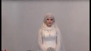 Последние приготовления к свадьбе 17-летней Луизы Гойлабиевой и 46-летнего Нажуда Гучигова.