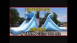 Party Rentals | Austin Tx | Temple Tx | Inflatable Game Moonwalks Waterslide