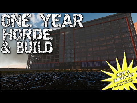 Alpha 15 | 4K | 7 days to die - Day 364 horde! One year  - Ep: 81