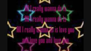 All I want to do By: Sugarland (lyrics)