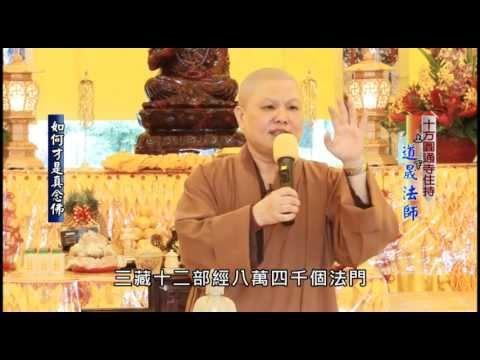 十方圓通寺-道晟法師開示〈如何才是真念佛〉