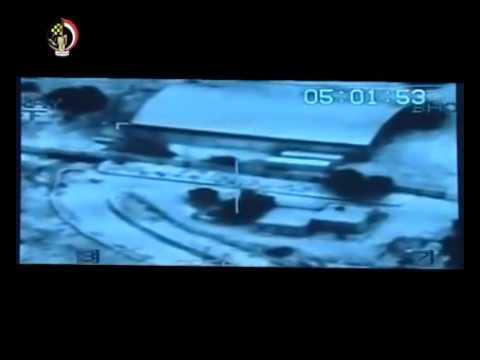 Egypt Bombs ISIS in Libya القوات المسلحة تقصف داعش فى ليبيا