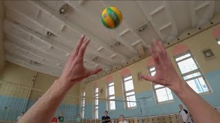 Волейбол от первого лица   Highlights   VOLLEYBALL FIRST PERSON   BEST MOMENTS   배구   バレーボール (FHD)