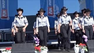 Hey brother  - Line dance - dance by Fire heels Hafenfest Stralsund 2016
