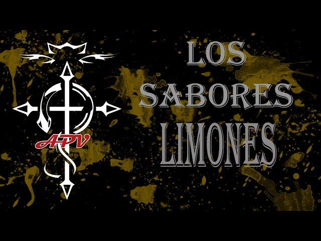 APV 192 LOS SABORES 2 - LIMONES. Con Abel de Moreliquids, Jesus de Vapeadores Extremeños y Mikel