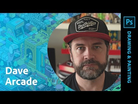 Isometric Illustration with Dave Arcade - 1 of 2 thumbnail