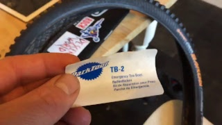 PARK TOOL TB-2  EMERGENCY TIRE BOOT new