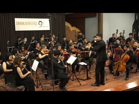 Immanuel Youth Orchestra playing Haydn's Symphony No. 104 (London)