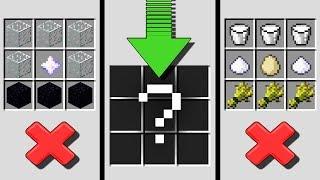 The HARDEST Item to Craft in Minecraft?