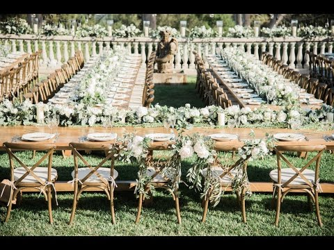 4K Beautiful Rustic Wedding Video In Malibu. Highlight Video. California (2016)