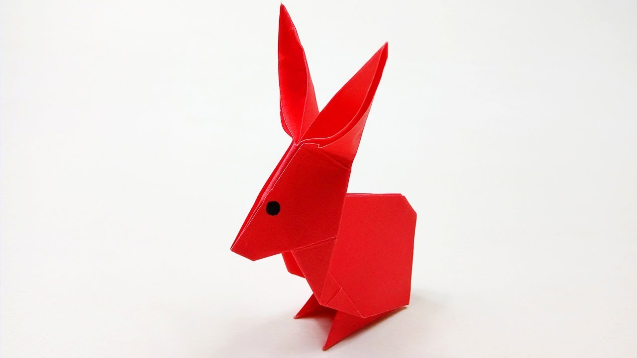 origami animal how to make a paper rabbit origami