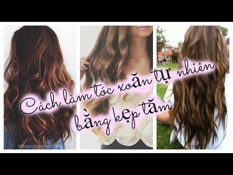 Cách làm tóc xoăn tự nhiên không cần nhiệt