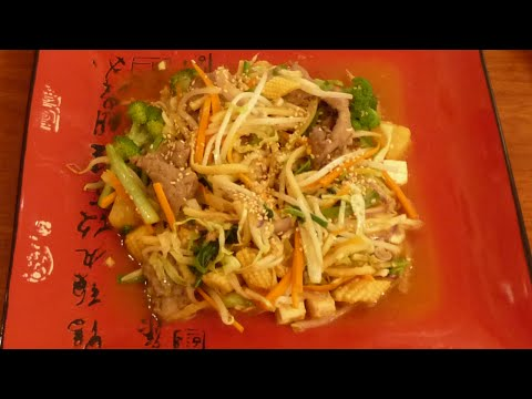 How To Make Mongolian BBQ At Home (如何料理蒙古烤肉)