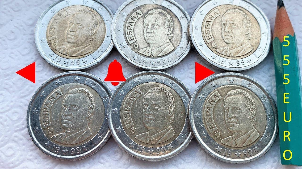 Spain 2 euro Juan Carlos Felipe VI 2014 New King UNC Bimetal