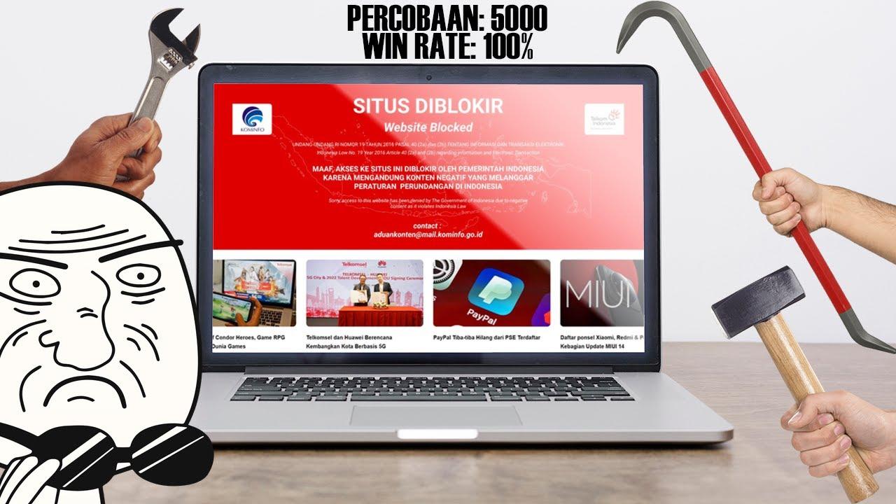Cara Buka Situs Yang Diblokir Dengan PC Desktop (Windows ...