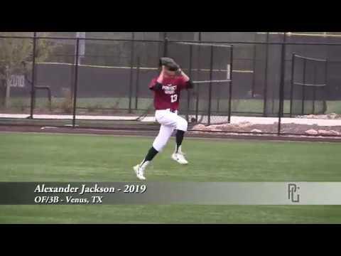 Alexander Jackson - OF/3B - Venus, TX - 2019