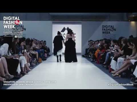 Singapore Fashion Design Schools Show 2014 | #DigitalFashionWeek Singapore 2014
