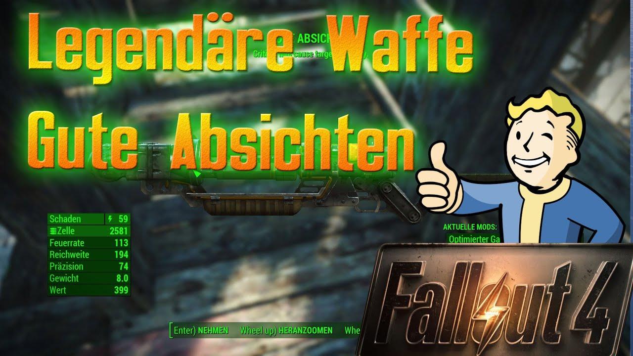 Fallout 4 Beste Waffe