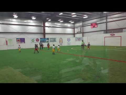 NFL FLAG FOOTBALL. Atlanta Falcons 1st grade. Score indoor sports Fairburn, GA