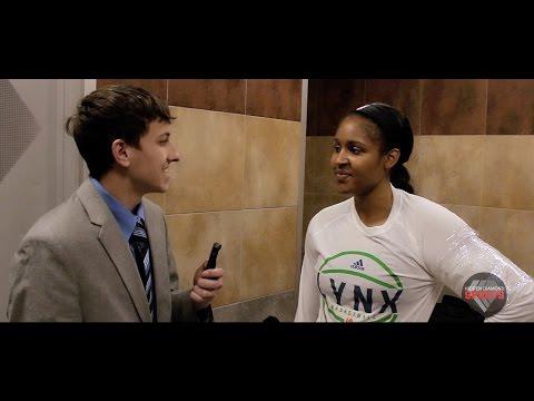 Maya Moore Interview 2016