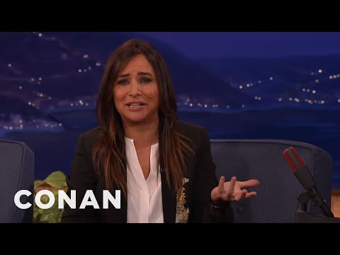 Pamela Adlon Played A Girl Who Magically Grew A Penis   CONAN on TBS