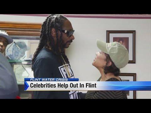 Snoop Dogg in Flint