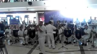 "The Indian Navy Orchestra Vocal Song ""Summer of 69"""