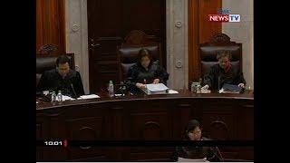 SONA: Ilang aksyon ni Chief Justice Sereno, kinuwestyon ni Associate Justice De Castro