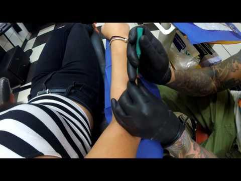 Microdermal - Dirty Roses Tattoo Studio - Thessaloniki - Greece