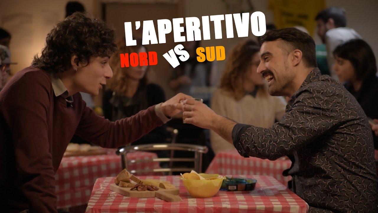 LAPERITIVO al NORD vs LAPERITIVO al SUD  YouTube