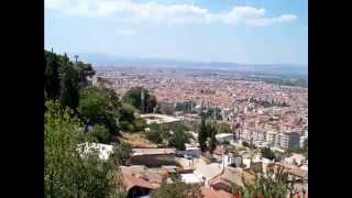 MANİSA ve Tarihi Yerler - Manisa Spil dağından Manisa'nın görünümü, Ağlayan kaya, Manisa Mevlevihanesi, Ulu Cami, İshak Bey türbesi ve ören yerleri...