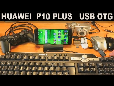 Huawei P10 Plus  OTG (USB On The Go) USB Host