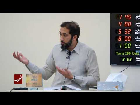 The Power of Gratitude - Khutbah by Nouman Ali Khan