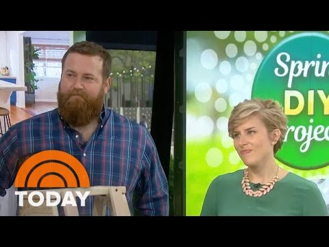 HGTV 'Home Town' Stars Share DIY Decorating Projects For Spring | TODAY