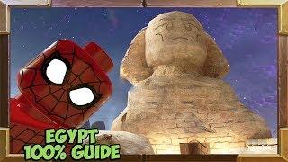 LEGO Marvel Super Heroes 2 Egypt 100% Guide