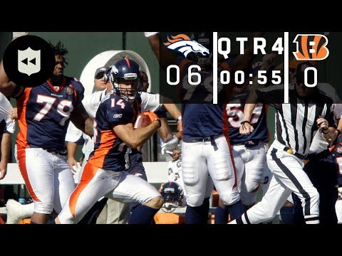 The Craziest Gus Johnson Game-Winning Call! (Broncos vs. Bengals Week 1, 2009) | NFL Throwback