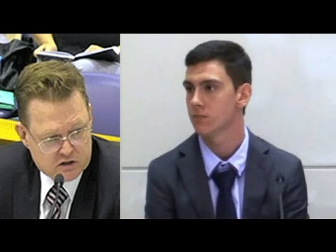 Dylan Voller at the Royal Commission into Detention in the NT Hearing