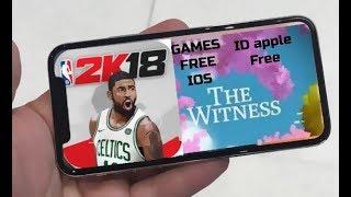 NBA2K18 e THE WITNESS (IOS 9-11)2017 - FREE/GRÁTIS!! (SEM/NO JAILBREAK, SEM/NO PC)! CORREEE!!!