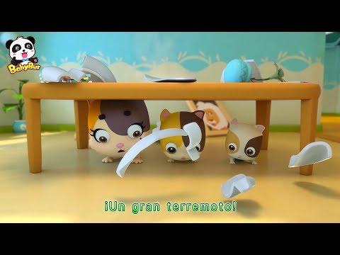 Un Gran Terremoto Agita | Canciones Infantiles | BabyBus Espa帽ol