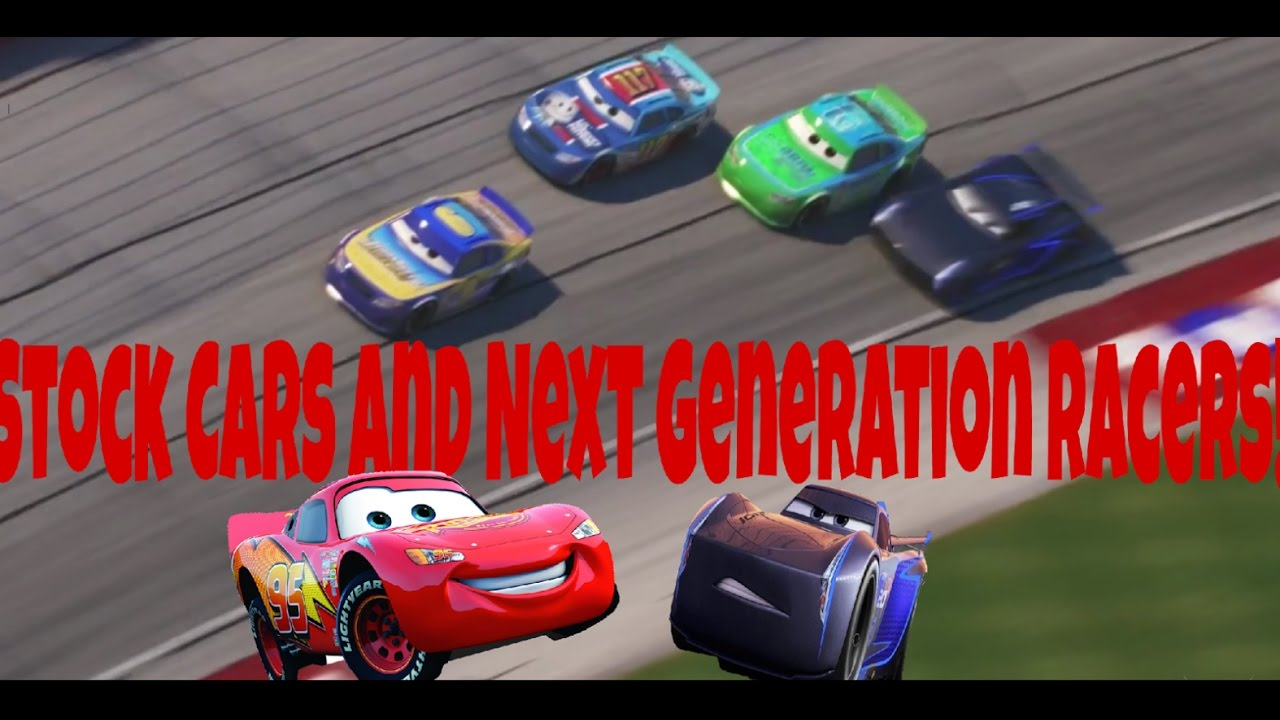 Pixar cars 3 speculation video 2 next gen and stock car for Cars autootjes