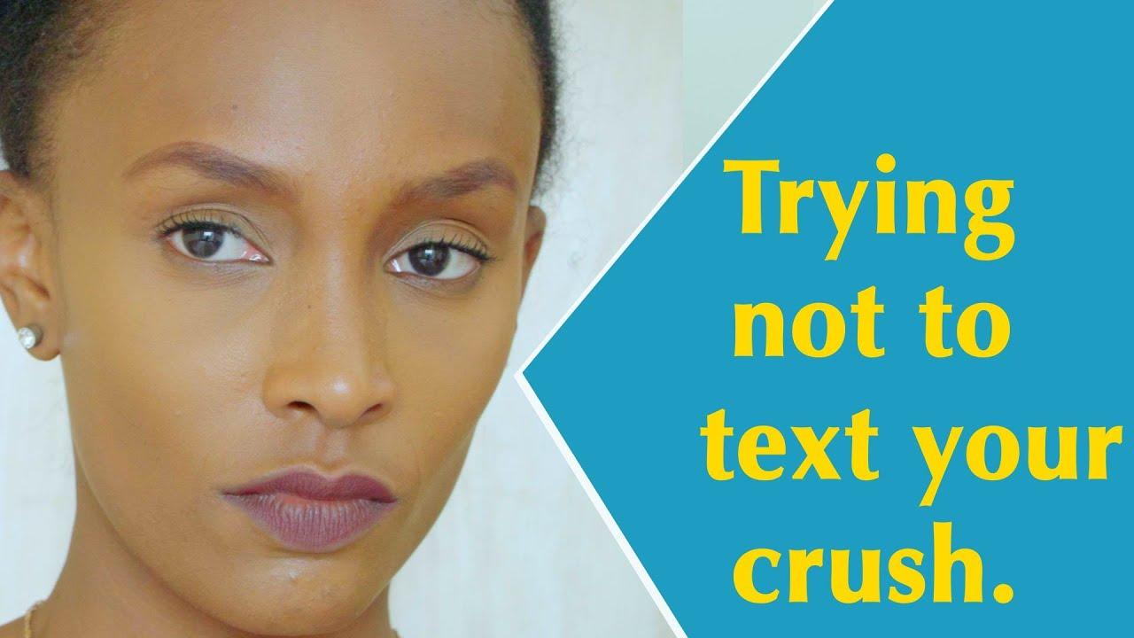 Texting My Crush - YouTube