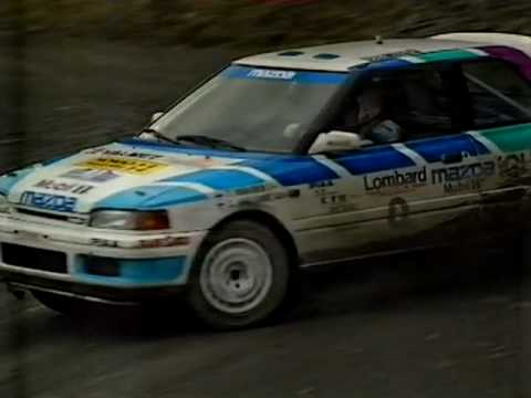 Top Gear Rally Report ( WRC , Rally GB ) 1991 , Day 2 , part 1 , Lombard RAC Rally