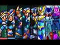 Evolution of X Armors in Mega Man X Games