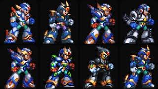 Evolution of X Armors in Mega Man X Games
